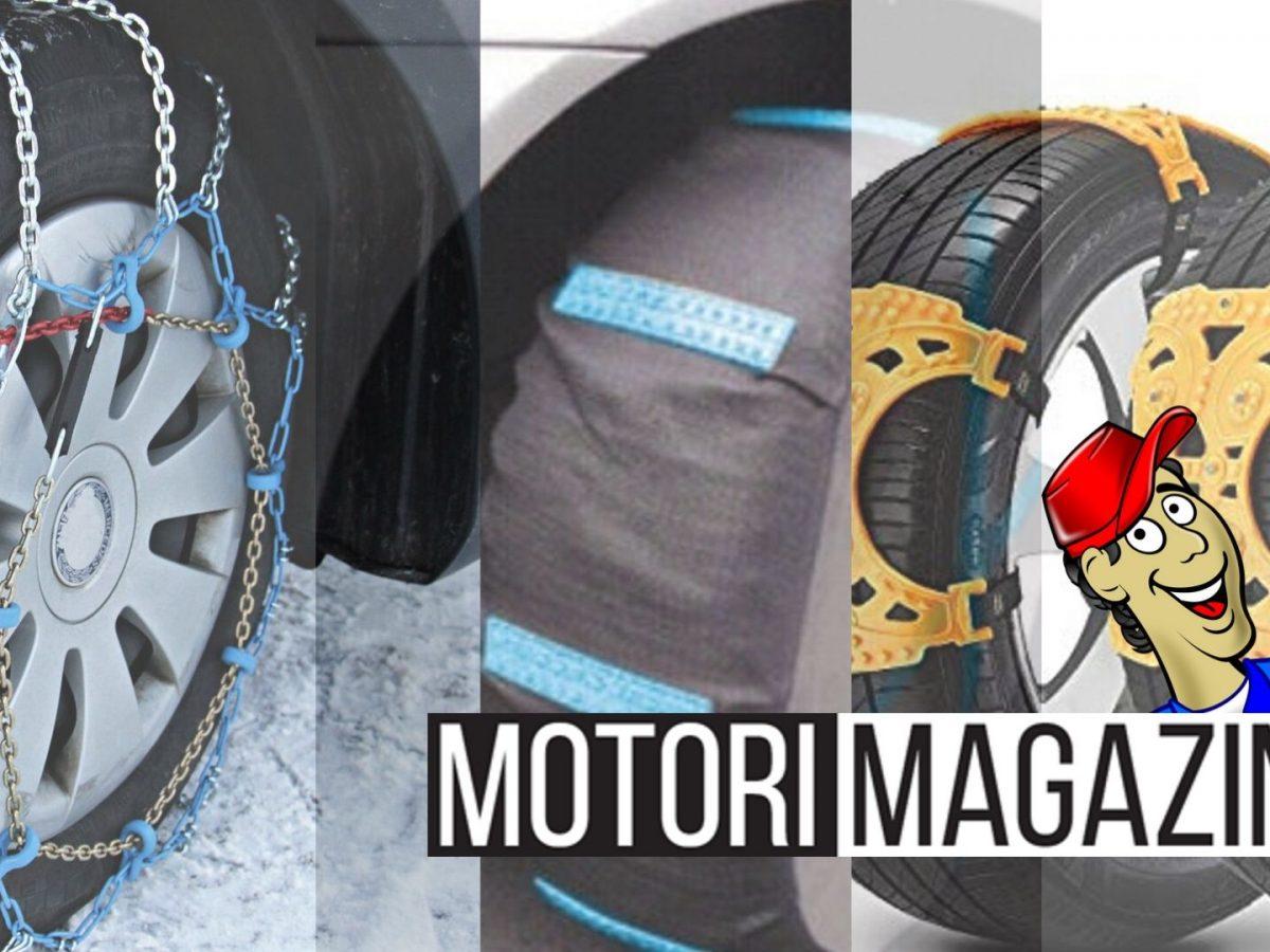 prevalente in vendita online speciale per scarpa Catene da neve: classiche, ramponi o calze? | Motori Magazine