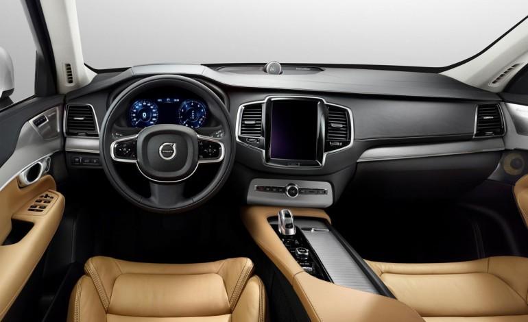 Volvo XC90 versione lusso Salone di Shanghai 2015