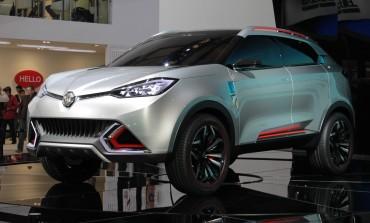 Scheda tecnica Crossover MG GS al Salone di Shanghai 2015