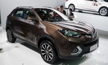 Design Crossover MG GS al salone di Shanghai 2015