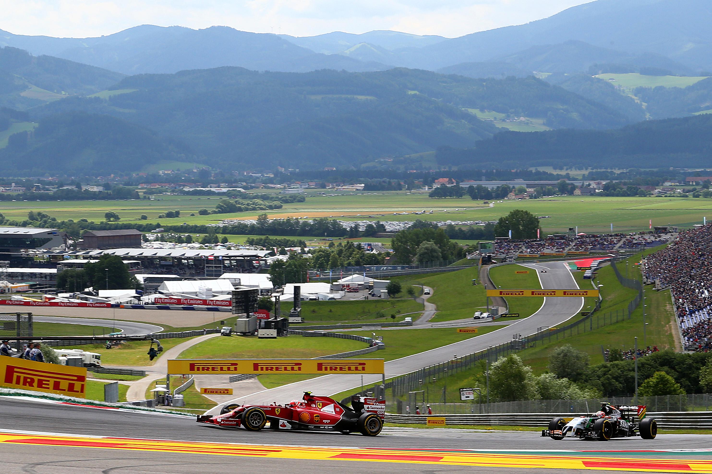 Circuito Formula 1 Austria : Orari programmazione tv gran premio austria formula