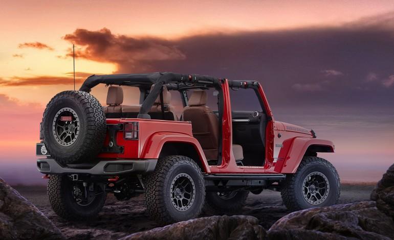 Jeep Wrangler Red Rock dimensioni, consumi, colori, caratteristiche