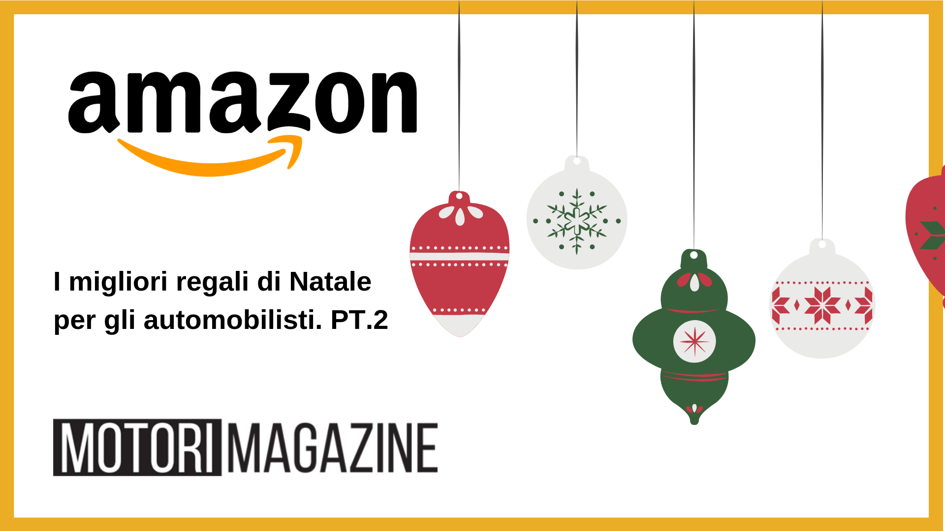 Regalo Di Natale 2.Regali Di Natale Per Automobilisti Pt 2 Motori Magazine