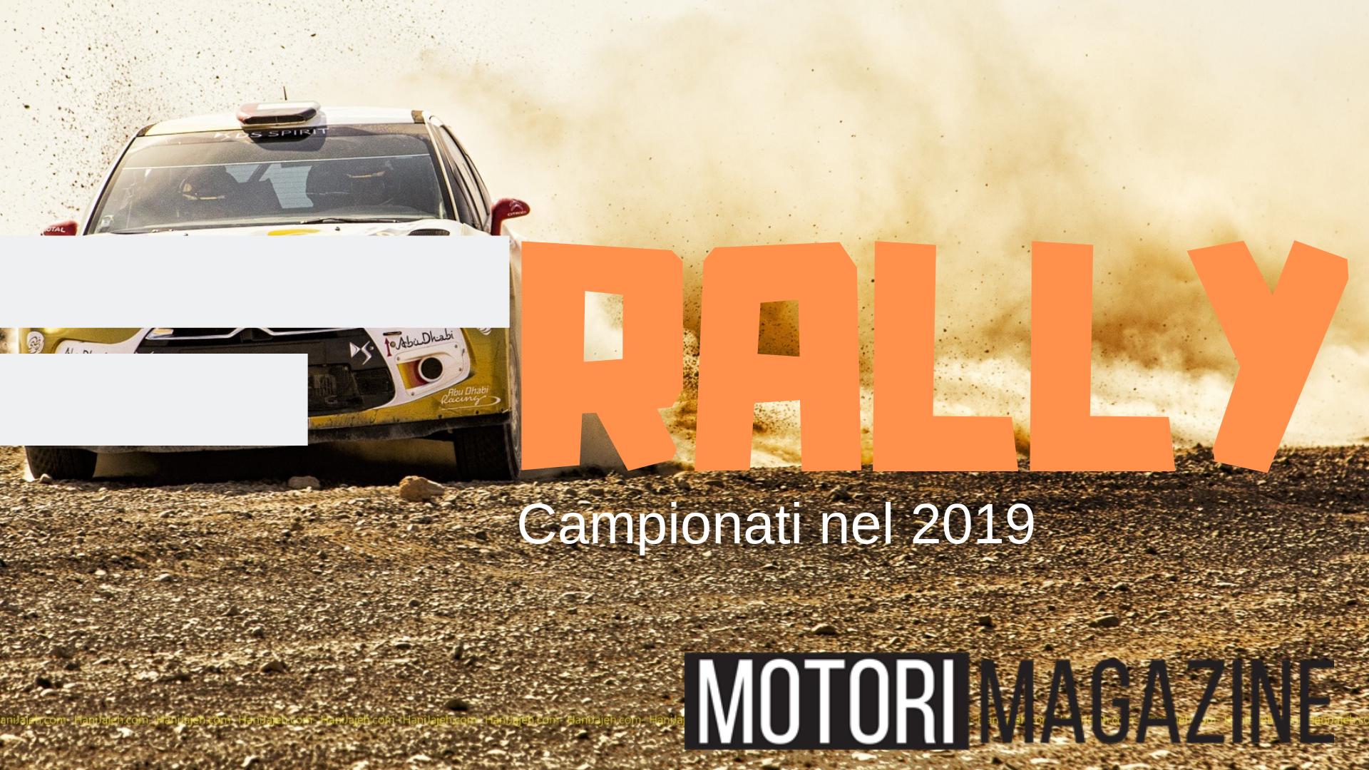 Corse Cavalli Milano Calendario.Calendario Rally 2019 Stay Tuned Motori Magazine
