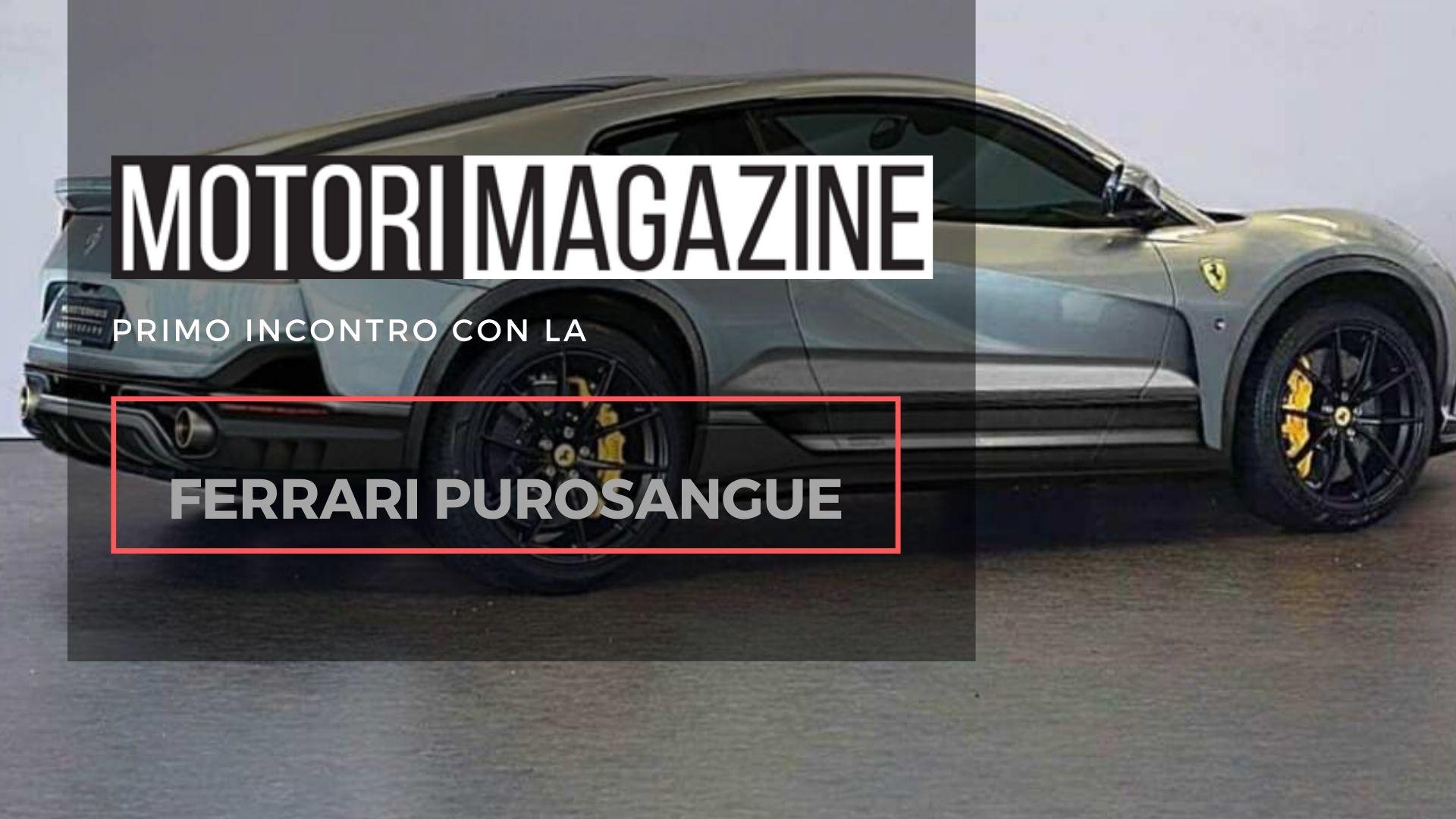 Suv Ferrari Purosangue: il cavallino mette le ruote alte - Motori Magazine