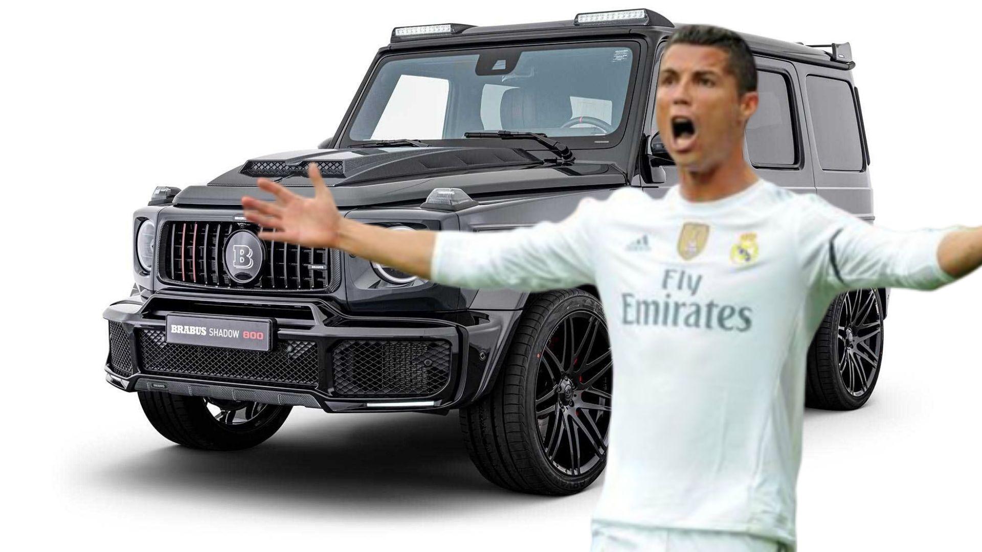 Le Auto Di Cristiano Ronaldo Prezzo Brabus Classe G Motori Magazine